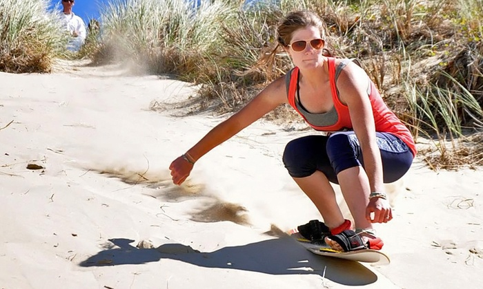 Sand Master Park - Florence: Performance Sand-Board Rental and Entry for Two or Four at Sand Master Park (50% Off)