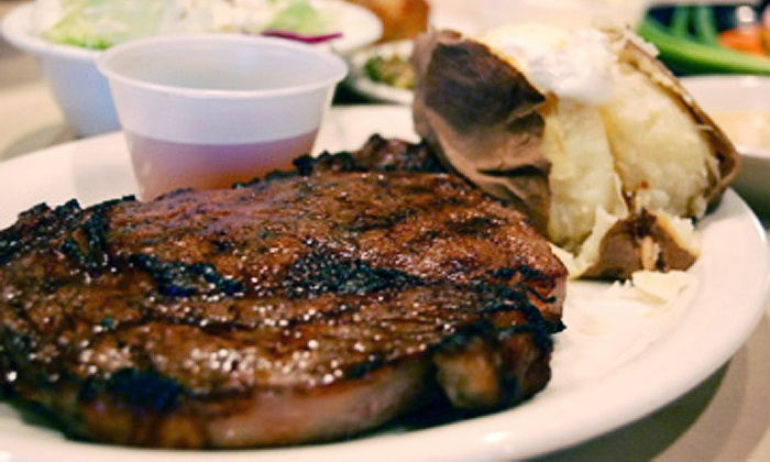 The Silver Flame - Tulsa: Prime-Rib Dinner for Two or Four at The Silver Flame (Half Off)