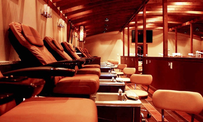 iSpa - South Shore Plaza: Mani-Pedi for One or Two at iSpa (Up to 56% Off)