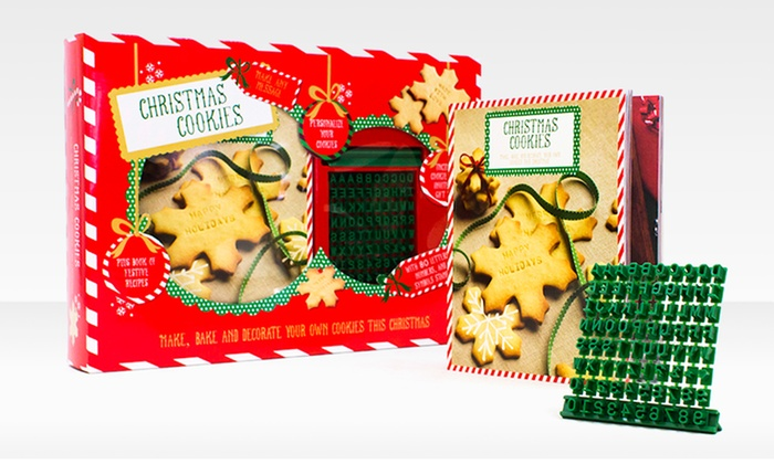 Christmas Cookie Cookbook and Stamper Box Set: $8.99 for a Christmas Cookie Cookbook and Stamper Box Set ($15 List Price)