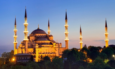 13-Day Tour of Turkey from Gate 1 Travel with Airfare and Sightseeing Tours. Price/person Based on Double Occupancy.