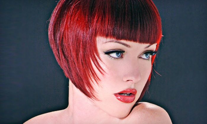 Allen Edwards Salon+Spa - Woodland Hills: Haircut with Option for Single-Process Color or Highlights at Allen Edwards Salon+Spa in Woodland Hills (Up to 56% Off)