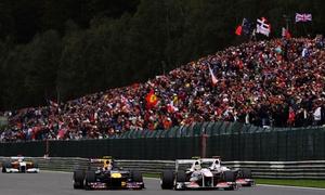 Mundotour: Places debout pour les essais, qualifications et course de Formule 1 Grand Prix de Spa-Francorchamps dès 17,99 €