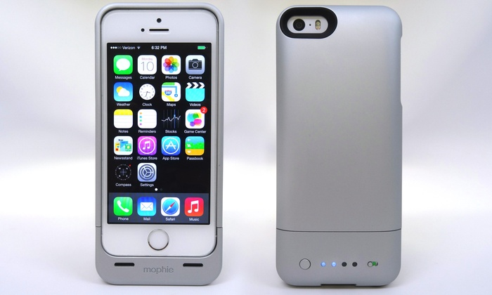 on sale c2741 bcb54 Mophie Juice Pack Helium Rechargeable 1,500mAh Battery Case for iPhone 5/5s
