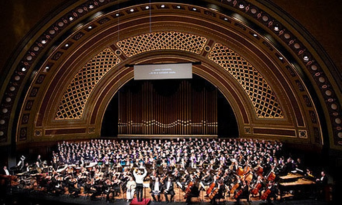 Holiday Pops Concert - Hill Auditorium: Ann Arbor Symphony Orchestra's Holiday Pops Concert for One or Two at Hill Auditorium on Friday, December 7