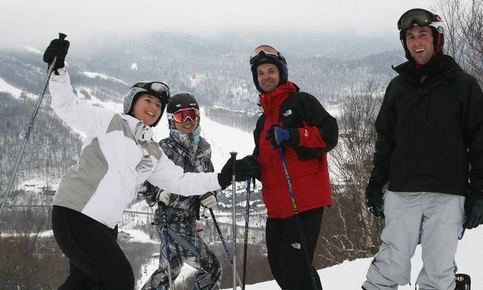 Boston Ski & Sports Club - Multiple Locations: Day Ski Trip and One-Year Membership to Boston Ski & Sports Club (53% Off). Seven Trip Options Available.