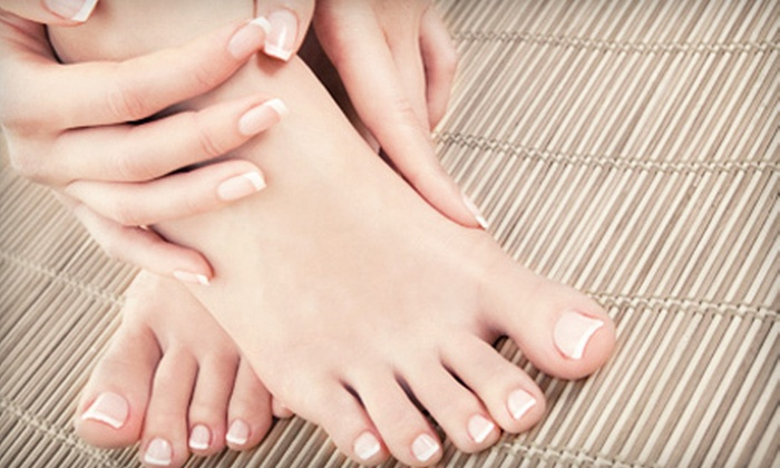 Serenity Springs Nail Spa - Country Club Estates: Mani-Pedi or Gel Manicure and Pedicure at Serenity Springs Nail Spa (Up to 61% Off)