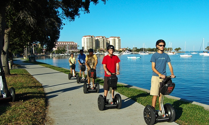 Magic Carpet Glide  - Magic Carpet Glide: Segway Tour of Tampa from Magic Carpet Glide (Up to 51% Off)