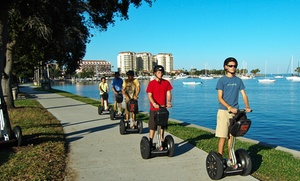 Segway Tour of Tampa or St. Pete: Segway Tour of Tampa or St. Pete (Up to 54% Off)