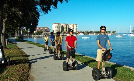 Segway Tour Segway Tour Of Tampa Or St Pete Groupon