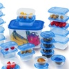 52-Piece Plastic Food Storage Set