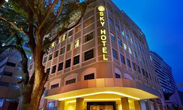 KL: Sky Hotel Bukit Bintang+Coach 3