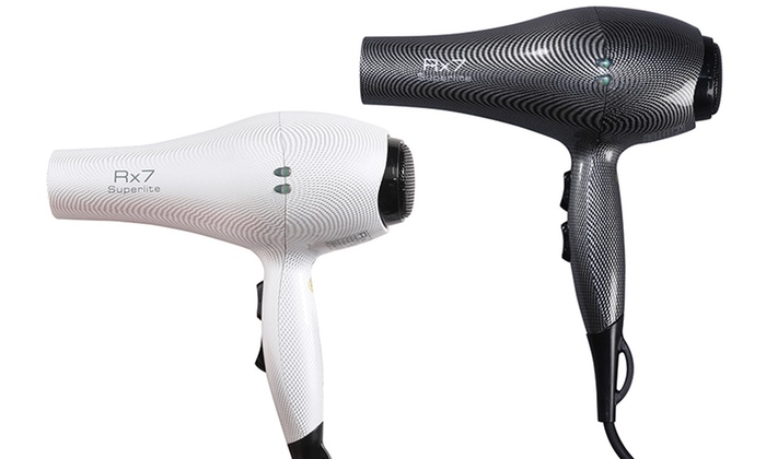 Rx7 Superlite Ceramic Nano Ionic Hair Dryer: Rx7 Superlite Ceramic Nano Ionic Hair Dryer