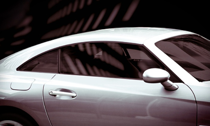 A-1 Tint Pros - Cary: Auto Window Tinting on Two Front Windows or Full Auto Window Tinting at A-1 Tint Pros (Up to 63% Off)