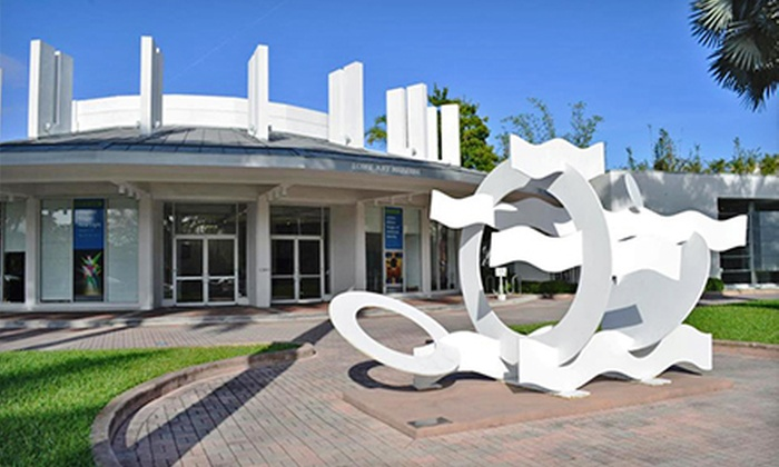 Lowe Art Museum and Coral Gables Museum - Multiple Locations: $17 for Admission for Two to Lowe Art Museum and Coral Gables Museum (Up to $34 Value)