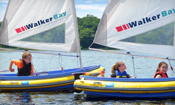 Northern Breezes Sailing School - Clifton E. French Regional Park: Youth Summer Sailing Camp with Half- or Full-Day Sessions from Northern Breezes Sailing School (Up to 50% Off)