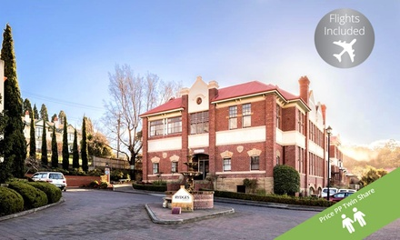 ✈ Hobart: 3.5* 6-Night Rydges Hobart Stay with Flights, Daily Breakfast and Wi-Fi; Price Per Person, Twin Share