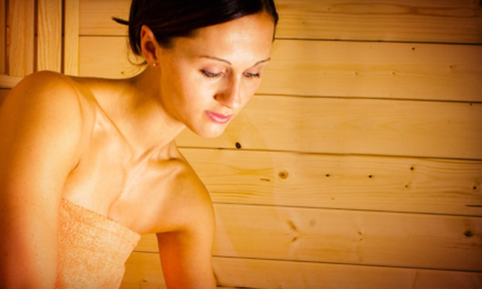 Tanning Zone - West A: 2, 5, or 10 Infrared-Sauna Sessions at Tanning Zone (Up to 56% Off)