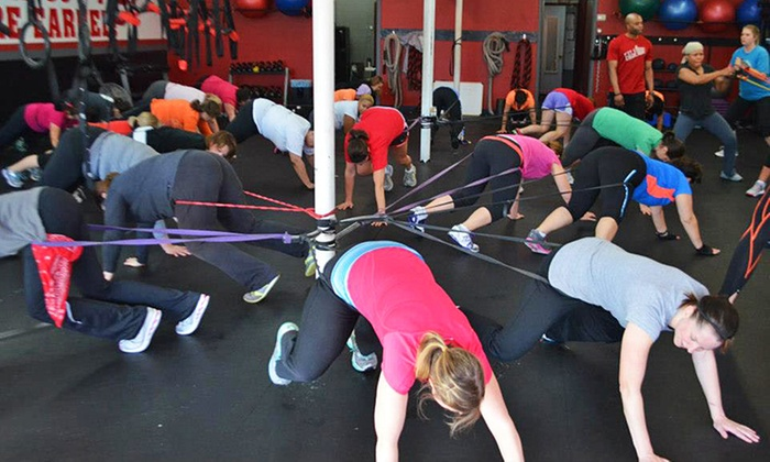 Fit Code - Multiple Locations: 10, 15, or 5 Boot-Camp Classes at Fit Code (Up to 81% Off)