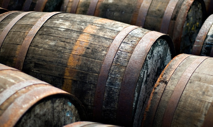 Dry County Distillery - Downtown: Distillery Tour for Two or Four with Bottles at Dry County Distillery (Up to 45% Off)