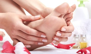 Sparkle Treatments: One-Hour Foot Treatment with Optional Shellac Manicure or Pedicure at Sparkle Treatments