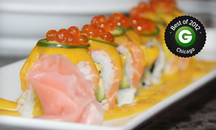 Aodake Sushi & Steak House - Multiple Locations: $15 for $30 Worth of Japanese Cuisine and Drinks at Aodake Sushi & Steak House
