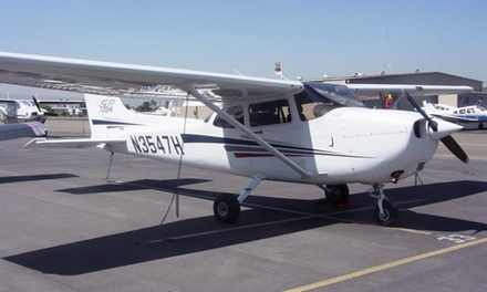 Introductory Flight Lesson in Option of Remos or Cessna 172 Aircraft from Trade Winds Aviation (Up to 59% Off)