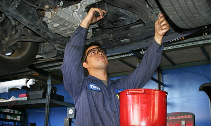 Auto Care Special - Multiple Locations: $33 for Auto-Maintenance Package with Three Oil Changes from Auto Care Special ($189.99 Value). 12 Locations Available.