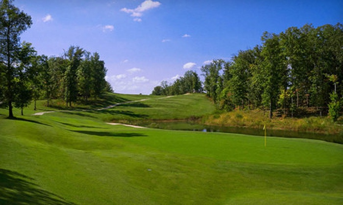 RiverWatch Golf Club - Sparta: 18-Hole Round of Golf for Two or Four with Cart Rental at RiverWatch Golf Club (Up to 68% Off)