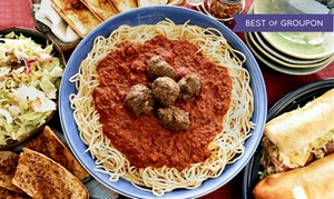 Sweet Taste of Italy: Pizza and Italian Food at Sweet Taste of Italy (Up to 43% Off)