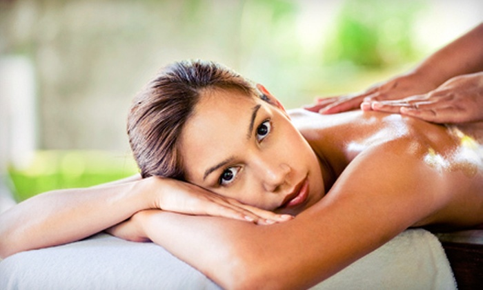 Millennium Salon & Day Spa - Livermore-Pleasanton: Massage and Foot Soak, or Massage, Foot Soak, and LED Light Therapy Facial at Millennium Salon & Day Spa in Dublin (Up to 61% Off)
