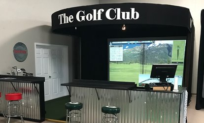 image for <strong>Golf</strong> Simulator Session or Introductory <strong>Golf</strong> Pro Lesson at One Under <strong>Golf</strong> Center (Up to 50% Off)