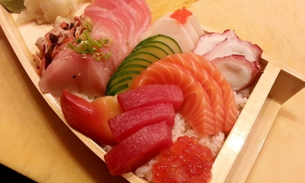 $22 for Japanese Dinner or Lunch for Two or More at Osaka Japanese Cuisine and Sushi Bar ($40 Value)