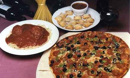One or Two Groupons, Each Good for $30 Worth of Food at Farotto's Italian Restaurant & Pizzeria (47% Off)
