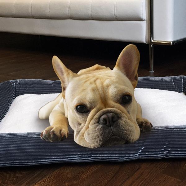 Aspca Plush Fur Bolster Pet Beds