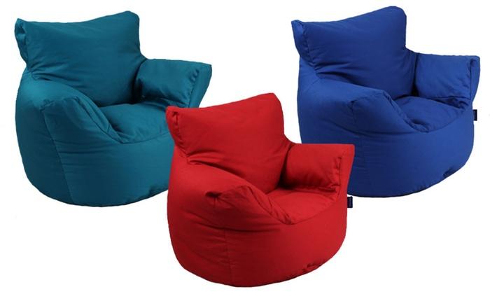 Cotton Children S Bean Bag Chair Groupon Goods