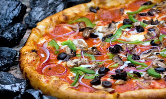 Britt's Coal Fire Pizza - Treasure Island: $11 for $20 Worth of Coal-Fired Pizza, Subs, Salads, Wings, Beer and Wine at Britt's Coal Fire Pizza