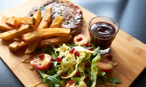 Chef Burger: Wielka uczta: 19,99 zł za groupon wart 30 zł na całe menu i więcej opcji w restauracji Chef Burger (do -40%)