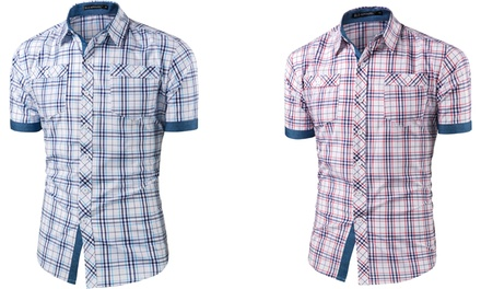 Chemise manches courtes collection Rupert