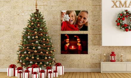 "One or Two 16""x12"" Canvas Portraits with Free Shipping from CanvasOnSale (Up to 74% Off)"