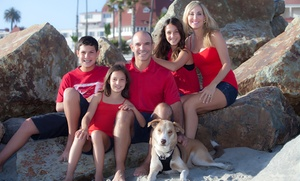 David Troyan Photography: Coronado Beach Holiday-Portrait Session Packages from David Troyan (Up to 95% Off)