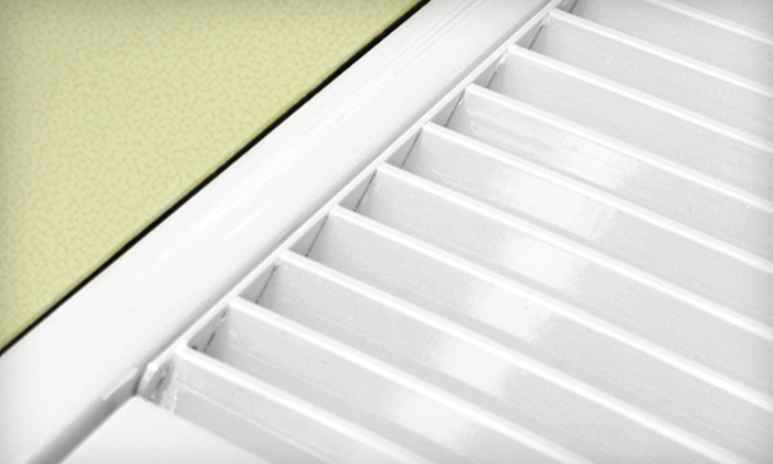 Quality Air - Providence: Air-Duct Cleaning for Up to 12 Vents or Air-Duct Cleaning and Dryer-Vent Cleaning from Quality Air (Up to 86% Off)