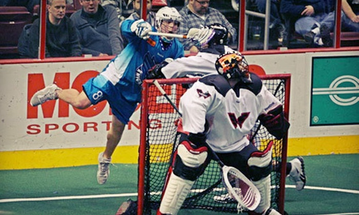 Rochester Knighthawks - Blue Cross Arena: One Ticket to See a Rochester Knighthawks Lacrosse Game at Blue Cross Arena on March 31 at 1:05 p.m. ($24.90 Value)
