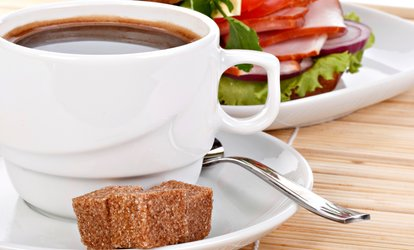 image for <strong>Coffee</strong> and Deli Food at Claudette's Cafe (Up to 36% Off)