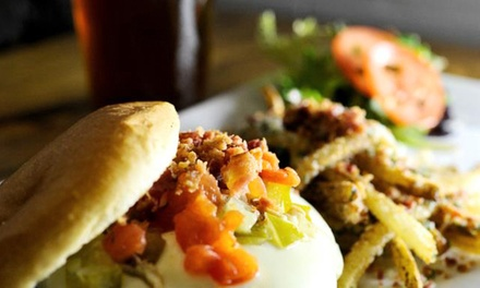 Beer Flights and Bistro Food for Two or Four at Growlers Beer Bistro (Up to 56% Off)
