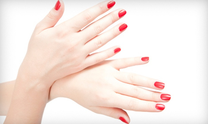 The Nail Room - The Nail Room: One Shellac Manicure with Option for Pedicure at The Nail Room (Up to 51% Off)