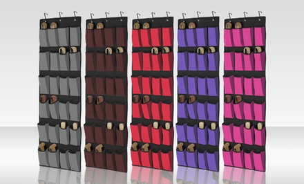 $12.99 for a 24-Pocket Over-the-Door Shoe Organizer ($21.48 List Price). Multiple Styles Available.