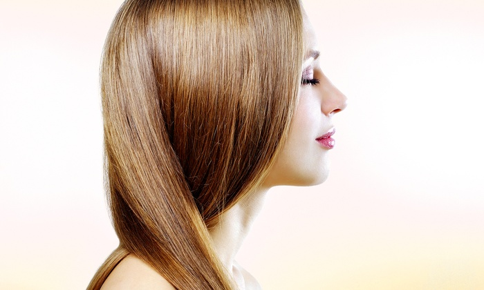 Unique Salon & Spa - Multiple Locations: One or Three Keratin Express Blowouts or One Keratin Straightening Treatment at Unique Salon & Spa (Up to 67% Off)