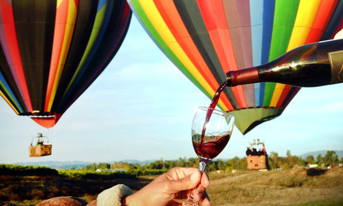 Sunrise Balloons - Temecula: Hot Air Balloon Ride for Two on a Weekday or Weekend from Sunrise Balloons (56% Off)