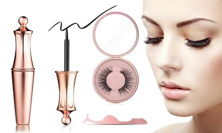 Eyeliner magnétique et faux-cils aimantés
